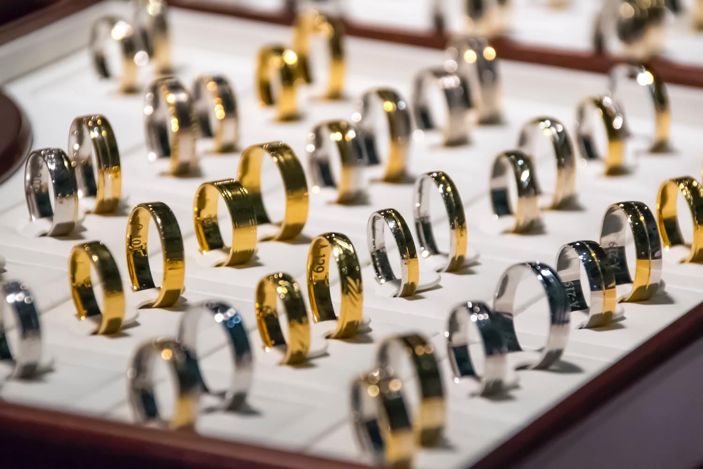 Goldring aus 585er Gold