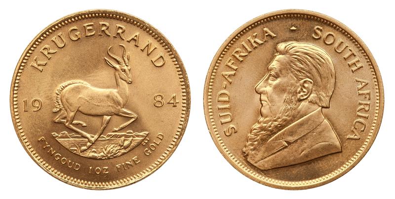 Krügerrand Goldmünze