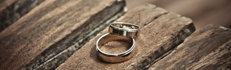 Weißgold Ringe